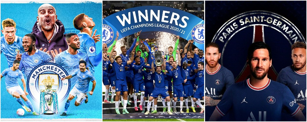 Man City, Chelsea, PSG Named Among Top 10 Most Valuable Football Clubs In The World