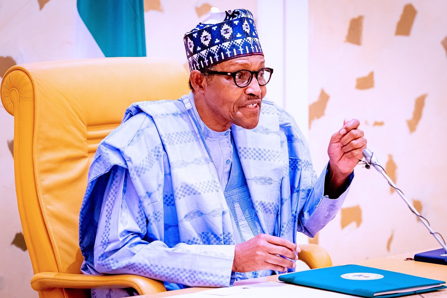 """""""I Won't Leave Nigeria In Crisis"""" - Buhari Vows To Do Whatever It Takes To Fix The County"""