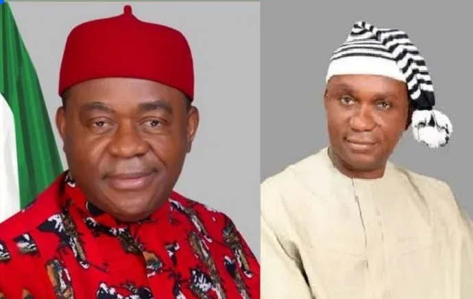 EFCC Arrest Former Abia Governor, Theodore Orji And Son Over N551 Billion Fraud