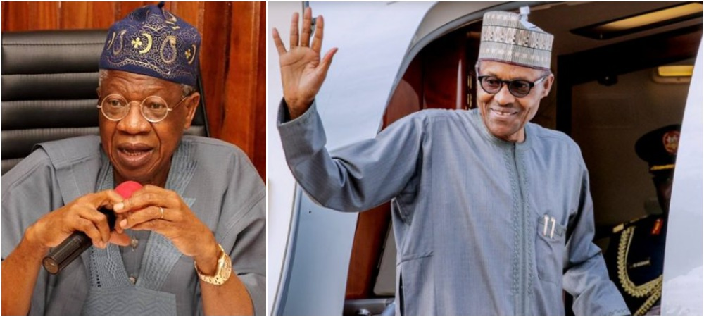 Lai Mohammed Reveals Why Buhari Can't Stop Travelling Abroad For Medical Treatment