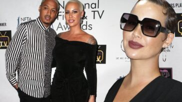 Amber Rose Accuses Boyfriend, Alexander 'AE' Edwards Of Cheating On Her With 12 Women