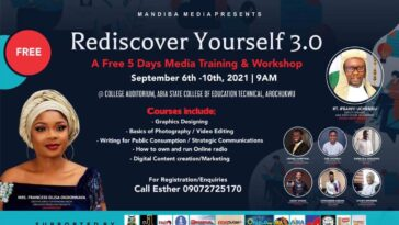 """""""Skills Are Assets and Arochukwu is ready to key in"""" - Mrs Tabitha Ogbonnaya As she sets to hold Annual Free Five Days Media Training and Workshop 1"""