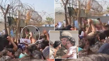 Afghan Mums Throw Babies Over Barbed Wire Fences, Beg British Soldiers To Take Them