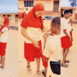 Nigerian Secondary School Student Proposes To His Girlfriend With N50k Ring [Video]