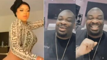 Don Jazzy Reacts To Video Of Bobrisky Twerking With His New Backside [WATCH]