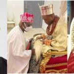 Why 84-Year-Old Obasanjo Knelt And Bowed Before 37-Year-Old Olu Of Warri - Aide