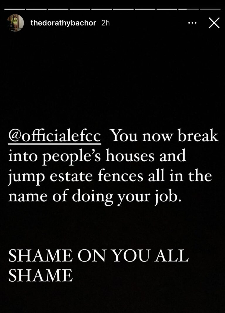 BBNaija Star, Dorathy Calls Out EFCC For Breaking Down Her Door, Raiding Her House 6