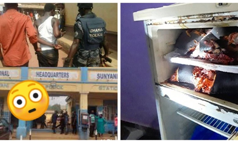 Popular footballer Richard Gyamfi arrested with 3 Human Heads In His Refrigerator + Photos 1