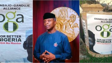Yemi Osinbajo Addresses His Campaign Posters, Running For President In 2023 1