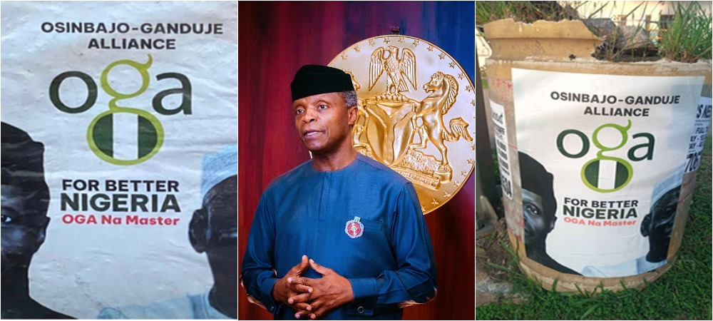 Yemi Osinbajo Speaks On His Campaign Posters, Running For President In 2023