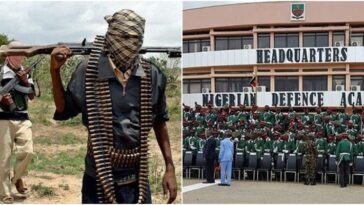 NDA Personnel In Charge Of CCTV Slept Off As Bandits Attacked Nigerian Defence Academy