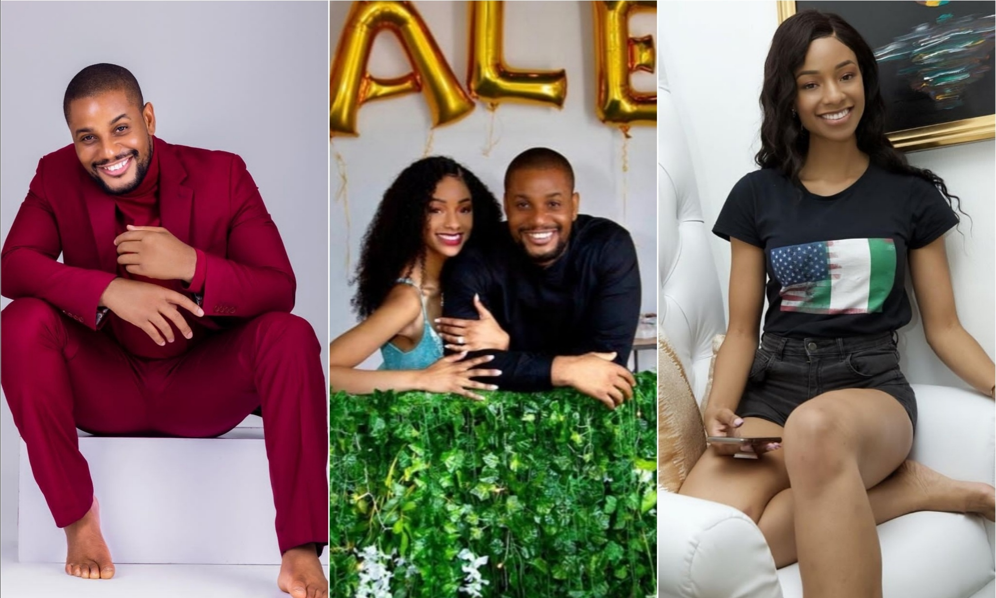 Actor Alexx Ekubo And Fiancee Fancy Acholonu Breakup 3 Months To Their Wedding