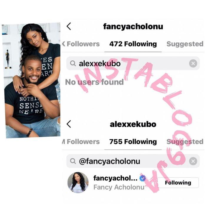Actor Alexx Ekubo And Fiancee Fancy Acholonu Breakup 3 Months To Their Wedding 2