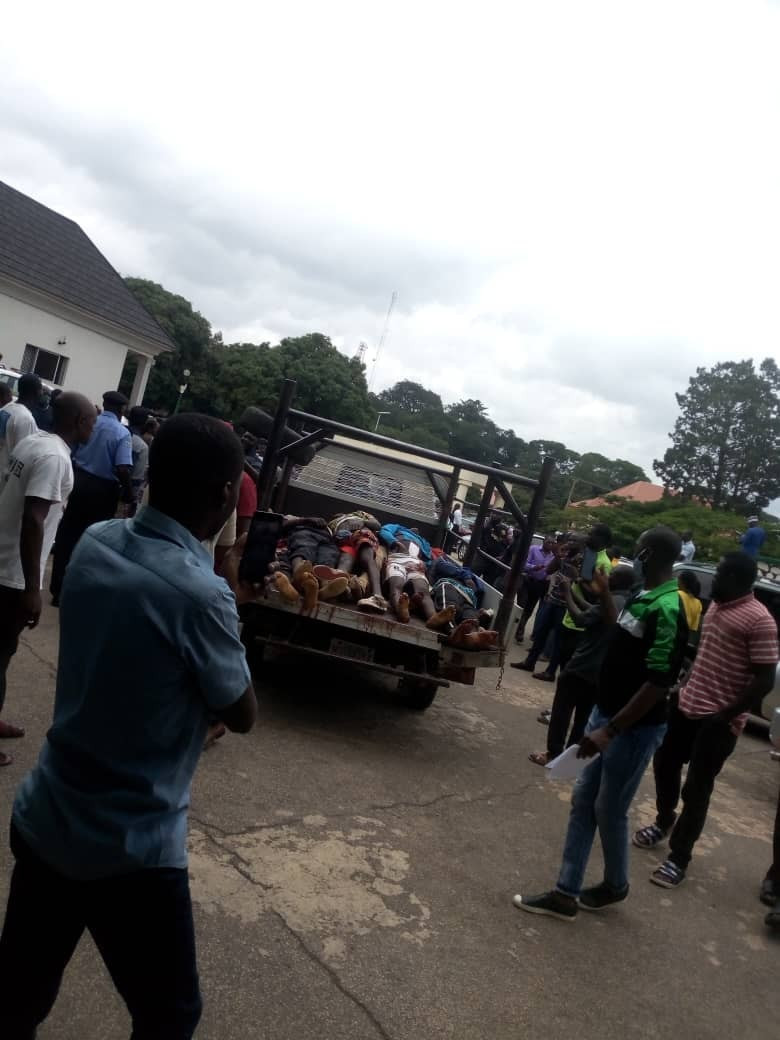 Youths Storm Plateau Assembly With Bodies Of Victims Killed By Fulani Militias [Photos] 3