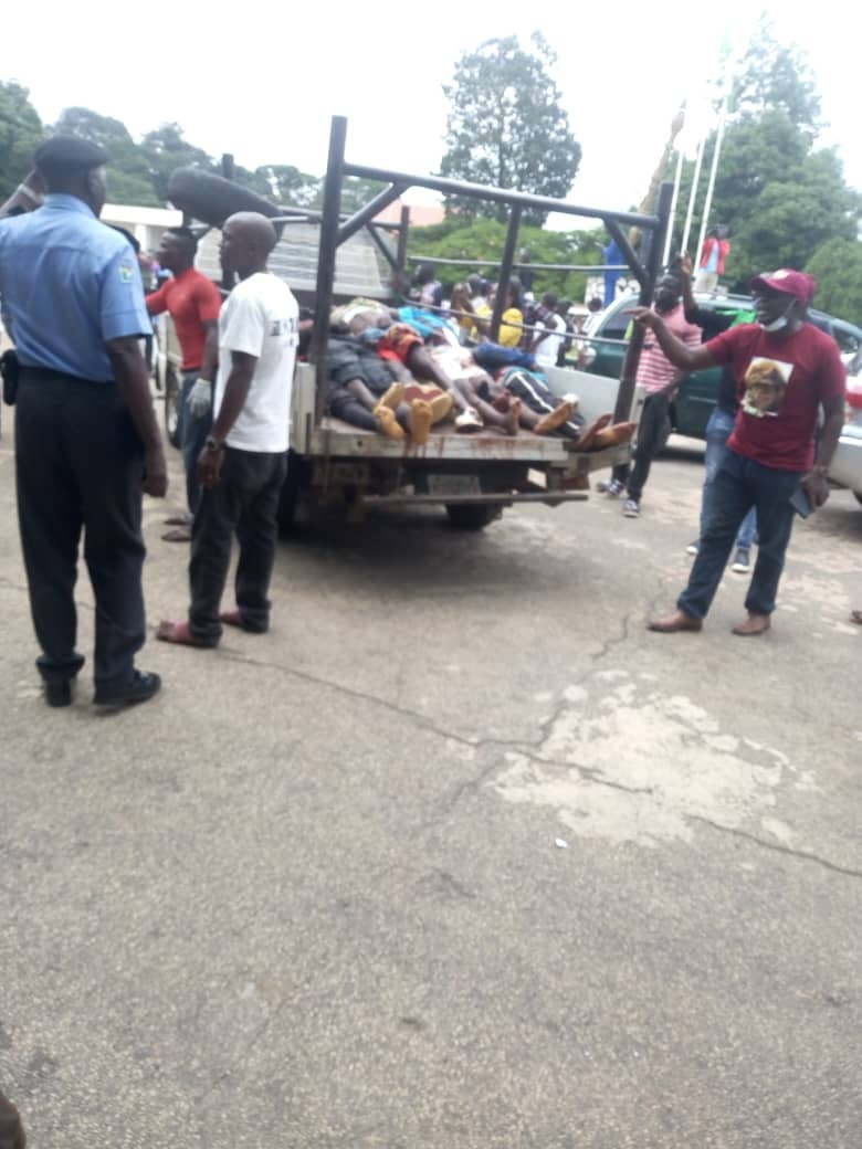 Youths Storm Plateau Assembly With Bodies Of Victims Killed By Fulani Militias [Photos] 5