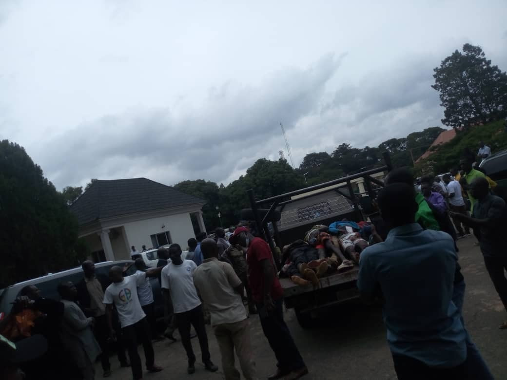 Youths Storm Plateau Assembly With Bodies Of Victims Killed By Fulani Militias [Photos] 7