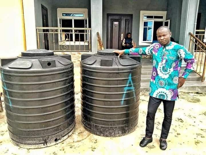 Rivers Councilor Drill Borehole With His First Salary, Say His Constituents Need It More