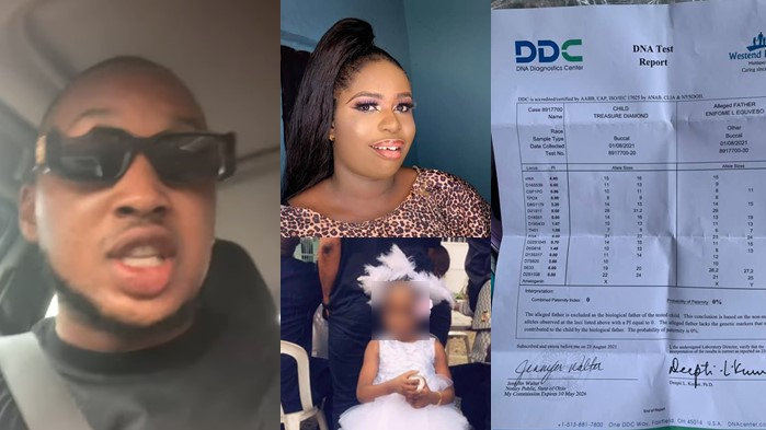 Nigerian Man Shares How DNA Test Revealed He's Not His Daughter's Real Father [Video]