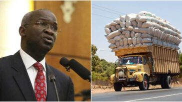 Trucks Carrying Excess Load In Nigeria Will Pay N1m To N10m Fine – Fashola