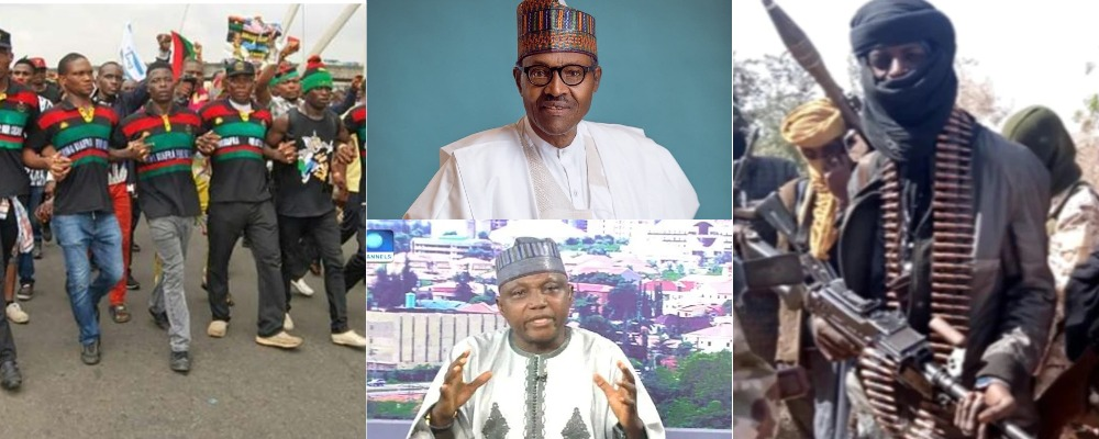 Buhari Treating AK-47 Wielding Bandits Worse Than Terrorists Like IPOB - Garba Shehu