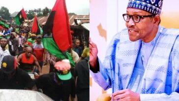 IPOB Are Not Freedom Fighters, They're Thieves Committing Acts Of Terrorism - Buhari
