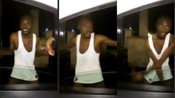 Yahoo Boy Runs Mad After Refusing To Use His Mother For Money Ritual In Abia [Video]