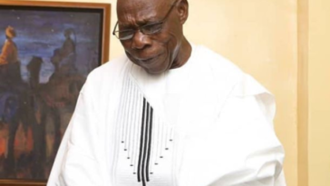 Ex-President Obasanjo Weeps During Stage Play, Reveals His Greatest Regret In Life