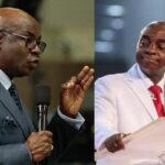 Pastor Tunde Bakare Publicly Tear Bishop Oyedepo's Book, Says It Was Full Of Error