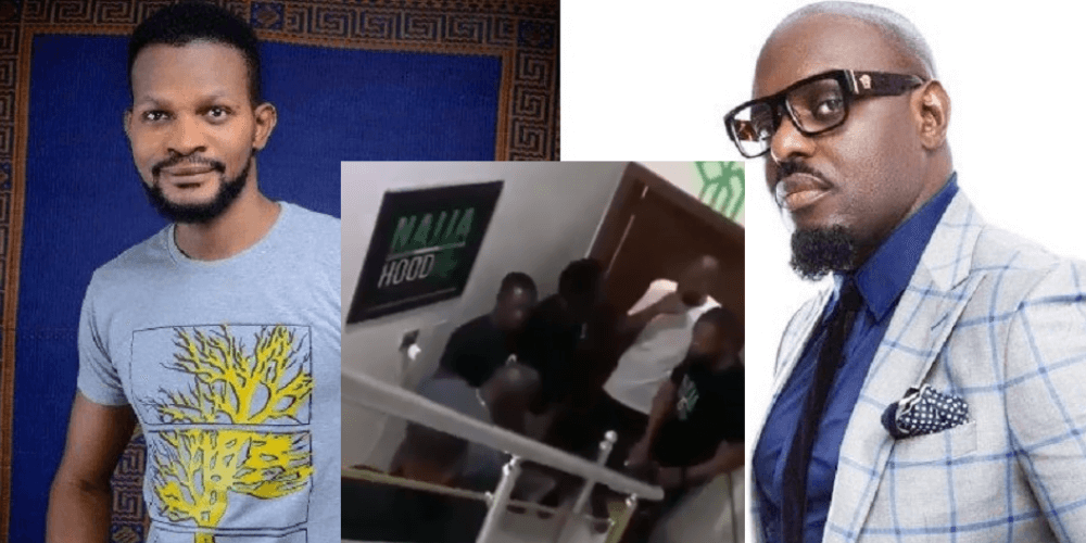 Uche Maduagwu Attacks Jim Iyke Again After He Was Beaten Up By The Actor [Video]