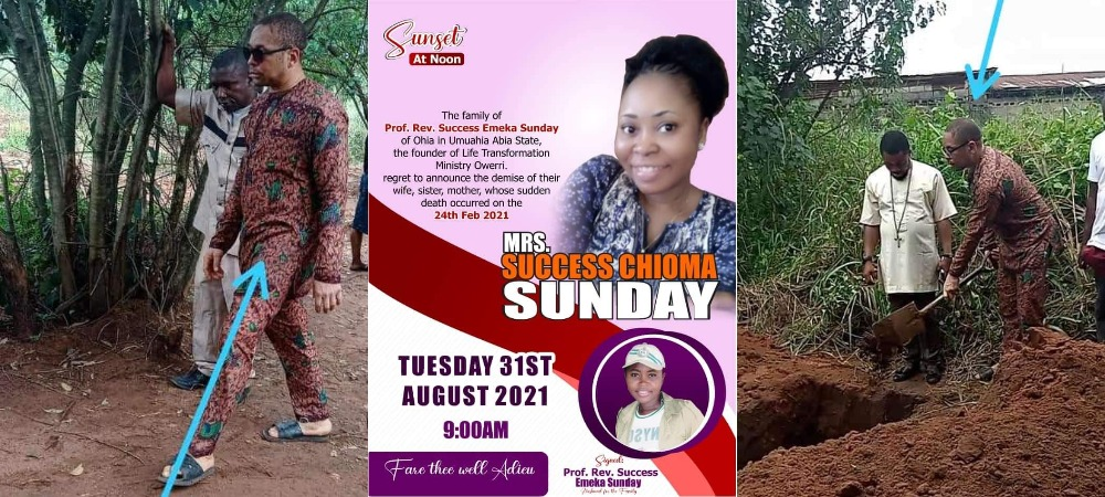 Pastor Emeka Forced To Marry Corpse Of Fiancée Who Died During Forced Abortion