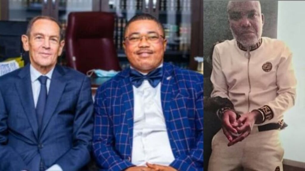 Ifeanyi Ejiofor Slams DSS For Preventing American Lawyer From Visiting Nnamdi Kanu