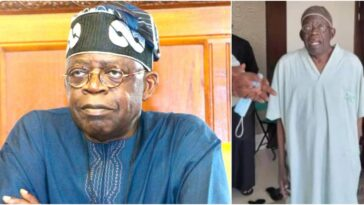 Tinubu's Health Worsens As His Hands Shakes Violently After Multiple Surgeries