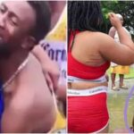 Couple Gets Stuck Together While Having Sεx In Bosomtwi Lake In Ghana [Video]