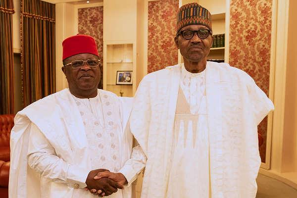 I Pray That God Gives Nigeria Another President Like Buhari In 2023 – Governor Umahi