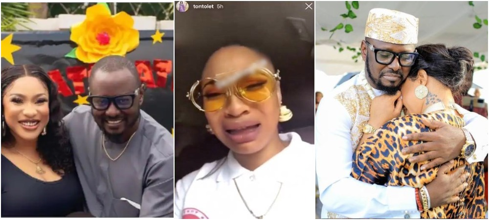 Tonto Dikeh Reacts To Leaked Audio Of Her Crying & Begging Ex-Lover, Prince Kpokpogri