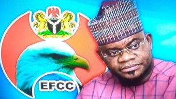 Governor Yahaya Bello Breaks Silence After EFCC Froze Kogi Government's Account