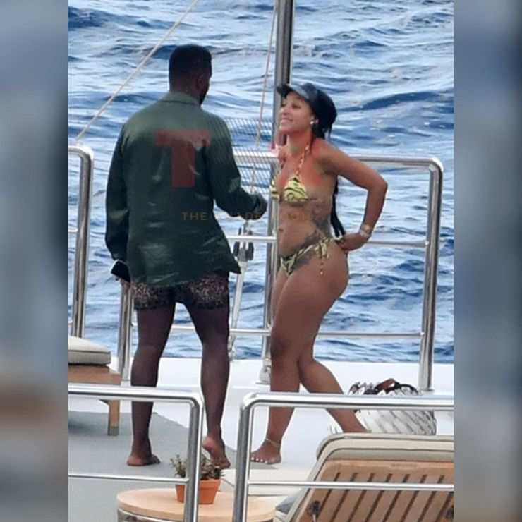 Diddy Caught Kissing Joie Chavis, Bow Wow And Future's Baby Mama [Photos] 5