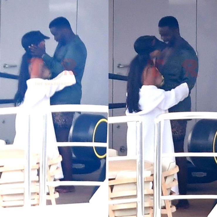 Diddy Caught Kissing Joie Chavis, Bow Wow And Future's Baby Mama [Photos] 6