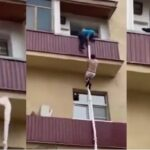 Man Escapes Through Window After Being Caught With Another Man's Wife [Video]