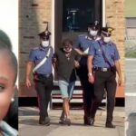 UPDATE: Italian Man Who Murdered His Nigerian Wife Because She Filed For Divorce Arrested