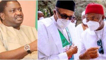 Femi Adesina Reveals What Buhari Told Uzodinma During His Visit To Imo State