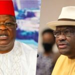 """""""Stop Talking Nonsense"""" - Umahi Challenges Wike, PDP Governors To A Debate"""