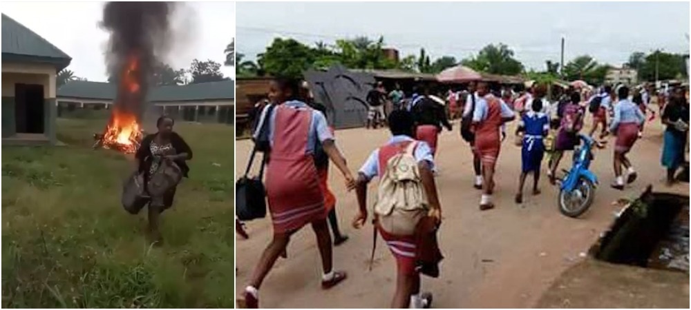 Gunmen Invade Imo School, Chase Away Students Participating In JSCCE Exam [Video]