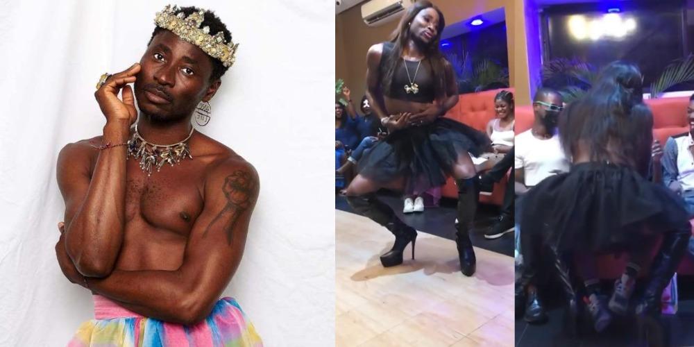 Nigerian Gay Activist, Bisi Alimi Dances Energetically On High Heels At Lagos Event [Video]