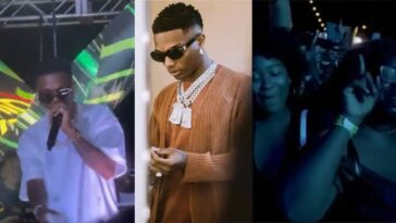 """""""Get Out Of Here Let Me See The Girls"""" - Wizkid Tells Camera Man At US Concert [Video]"""