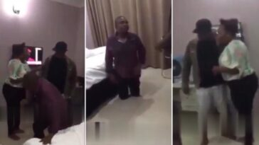 Married Man Catches His Wife In Bed With Another Man In Hotel Room [Video]