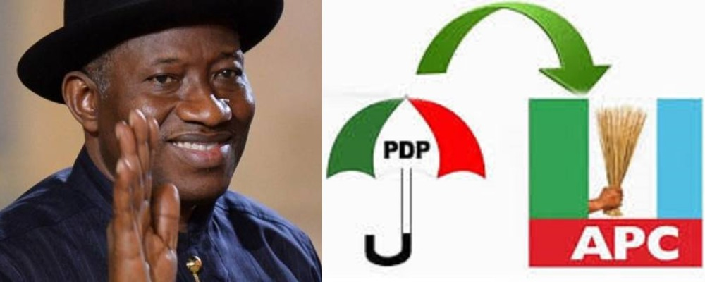 2023: Former President, Goodluck Jonathan Speaks On Defecting From PDP To APC