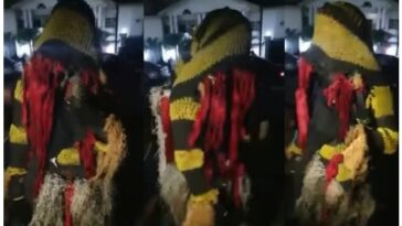 Masquerade Seen Quoting Bible While Preaching The Gospel Of Jesus Christ [Video]