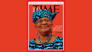 Ngozi Okonjo-Iweala Named Among Time's 100 Most Influential People In The World