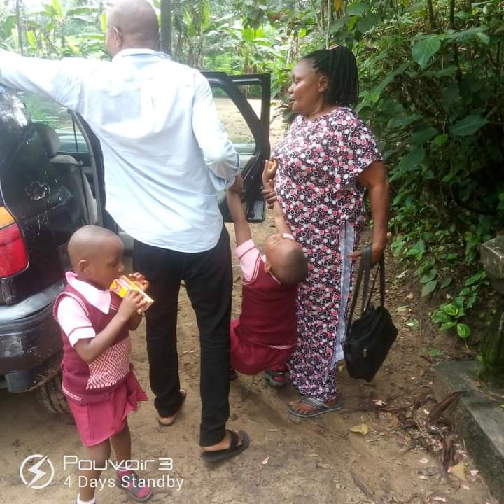 Man Heartbroken After His Wife Divorced Him, Forces Their Daughter To Go With Her [Photos]